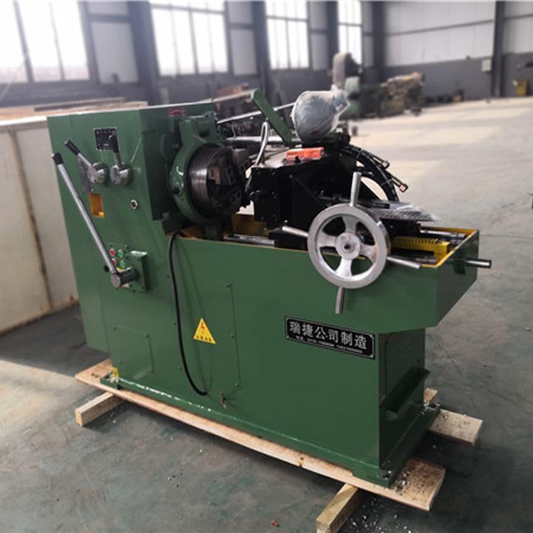瑞捷新型数控圆钢套丝机 S8148型水管套丝机