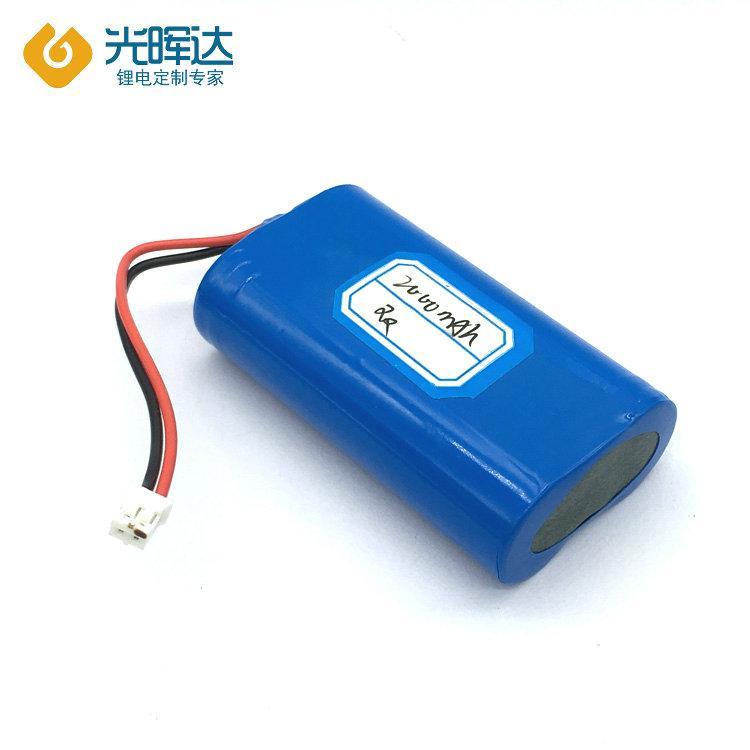加工生产 18650锂电池 串联并联3.7V 2000mah数码产品 电动玩具锂电池 厂家光晖达