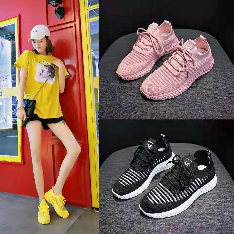 鞋子厂家批发   女士休闲鞋    夏季小白鞋  网红爆款   运动休闲鞋