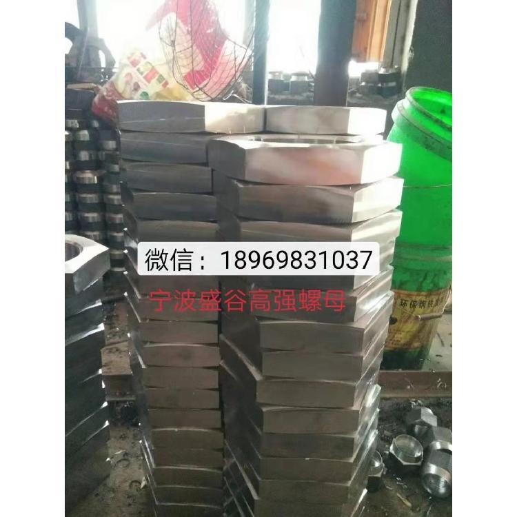 8级 10级美制发黑螺母、35crmoA美制热镀锌螺母、 美制A194-2H热镀锌美制螺帽厂家直销