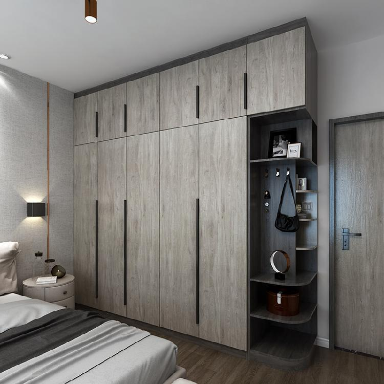 南京全屋衣柜定制整体家装现代港式轻奢风卧室衣柜主卧多功能北欧家具