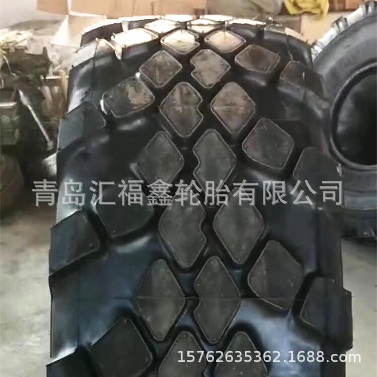 前进550/75R21俄罗斯军用拖炮车轮胎越野轮胎21.5/75R21