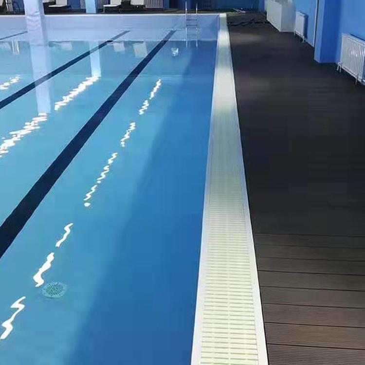 雨洁钢结构拼装拆卸游泳池 健身会所泳池 专业贴膜工程