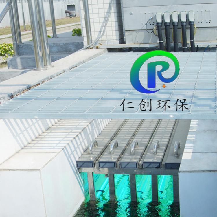 泰安生活污水处理明渠式紫外线消毒器 过流式紫外线消毒仪 低压管道式紫外线杀菌器 量子环专业消毒厂家