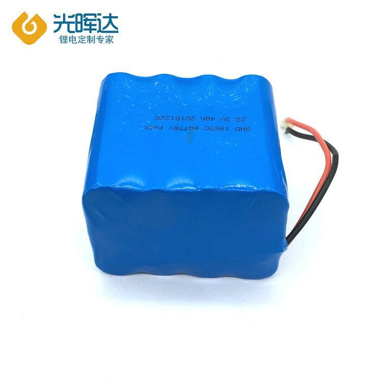 定制18650锂电池组生产厂家供应4000mAh 22.2V 串联并联锂电池