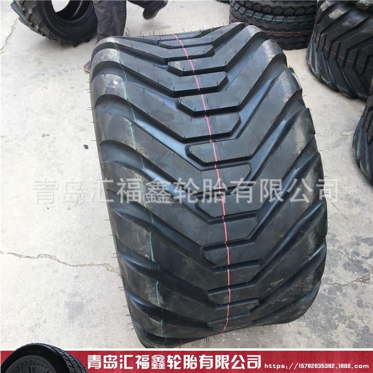 供应500/50-17农用捆草机打捆机轮胎I-3H真空宽基轮胎500/50/17