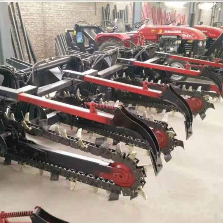 地下管道开沟机厂家直销 大型开沟机价格