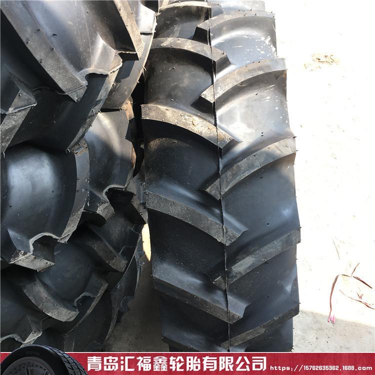 前进甲字灌溉机械 14.9-24轮胎 农机具拖拉机轮胎 R-1人字花纹 东方红凯斯