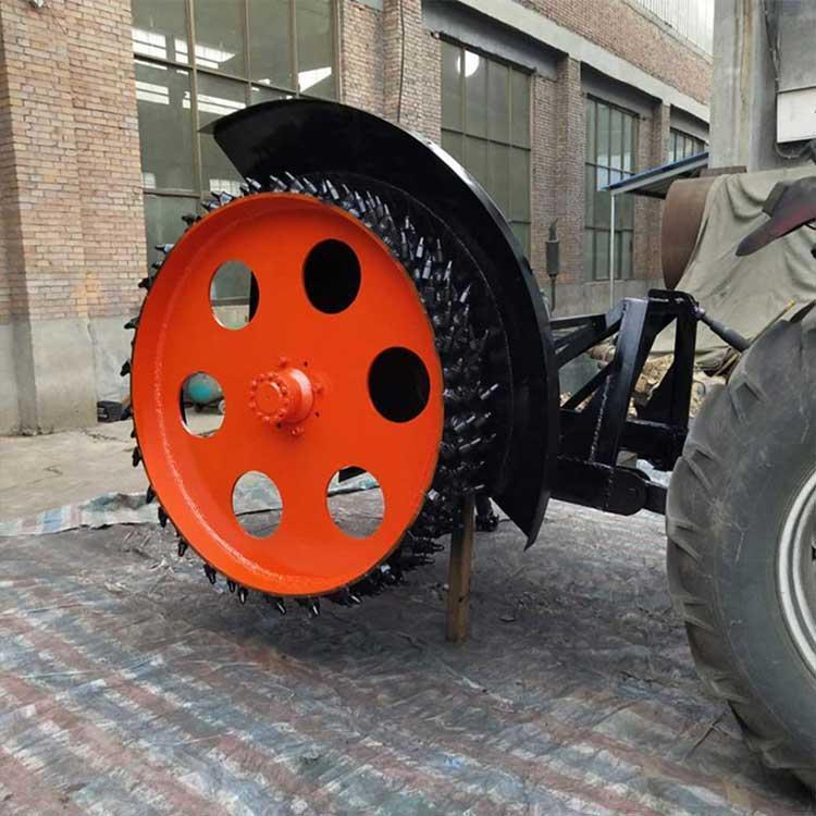 拖拉机带圆盘式开沟机 蔬菜种植开沟机价格好