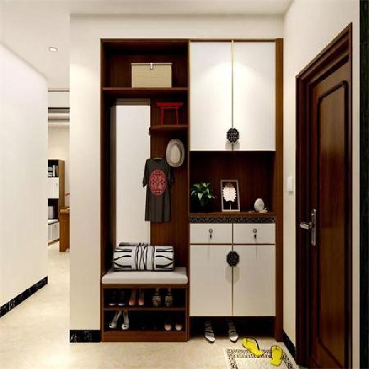 南京定制设计进门玄关组合柜哪种材质好啊