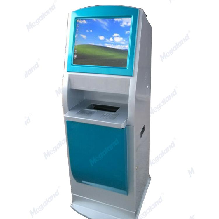 兆来自助终端机 查询机立式自助一体机 自助多媒体排队机 银行医院触控屏终端机柜