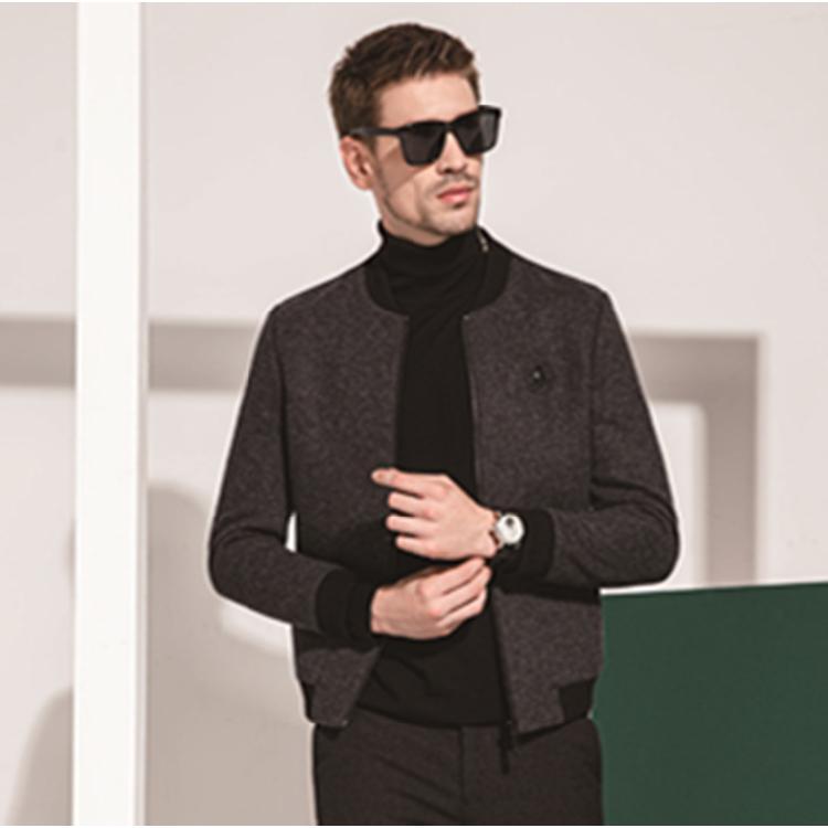 夹克加盟 夹克代理 男士上衣代理  河南渡森专注男装发展23年可加盟价格优惠