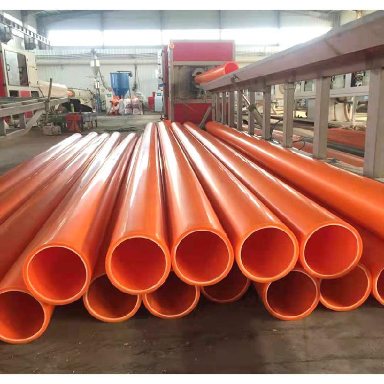 乾海塑研电缆保护600护套管顶管埋拖拉管110电缆保护套河南MPP电力管厂家改性聚乙烯通讯工程160