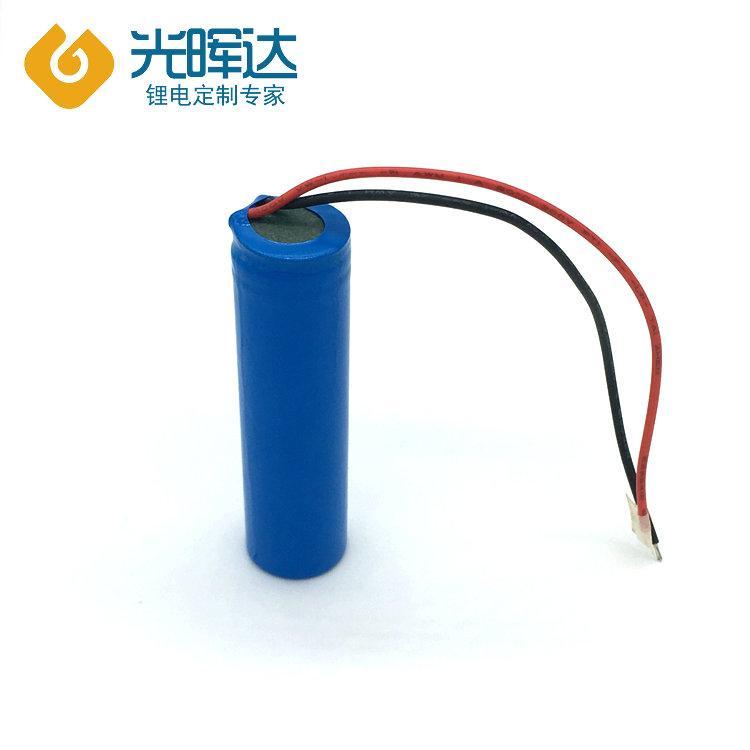 锂电池生产厂家生产3.7V优质圆柱锂电池2000mAh 18650锂电池组
