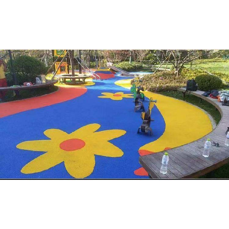 EPDM材料彩色颗粒 广场公园小区路面专用EPDM颗粒 PU颗粒EPDM塑胶