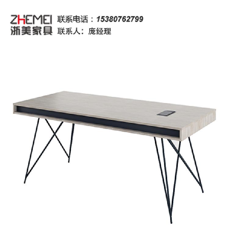 南京家具公司厂家定制 办公会议台会议桌现代风格简约 浙美办公家具长方形桌