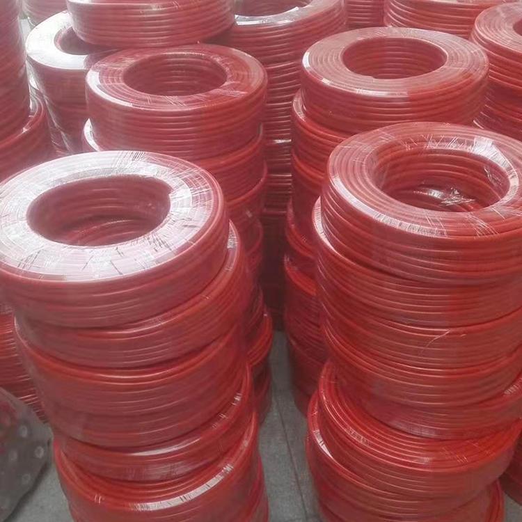 红色加线管 淋水器管 聚氨酯软管 软管 聚氨酯管