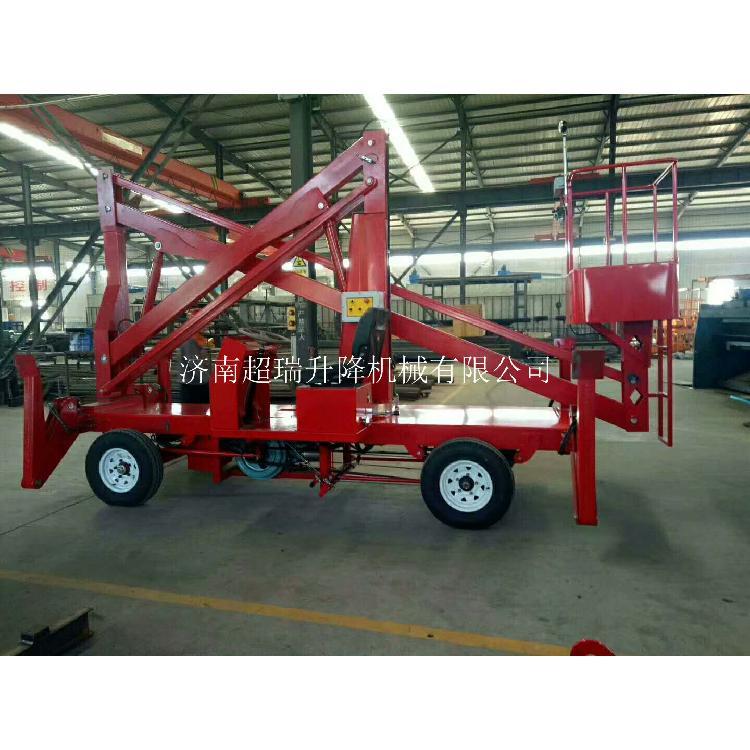 移动式升降平台厂家价格直销 电动液压升降台14米柴油机曲臂式升降机设备