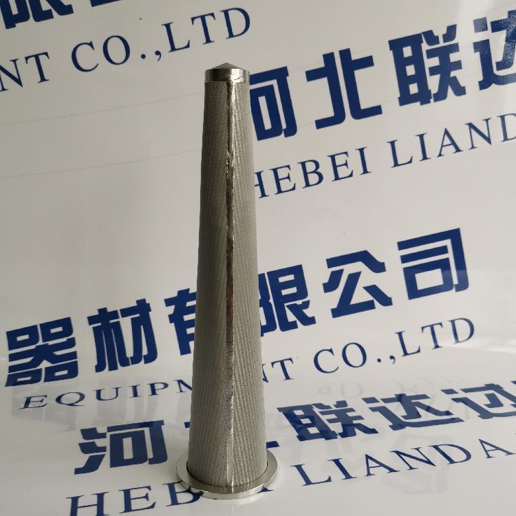 供应船舶工业用烧结网滤芯 不锈钢烧结滤器 烛式滤芯