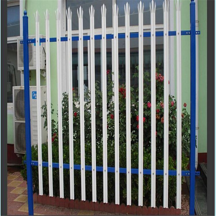 热镀锌护栏/庭院围墙栅栏/篱笆栅栏/烤漆安全防护栏