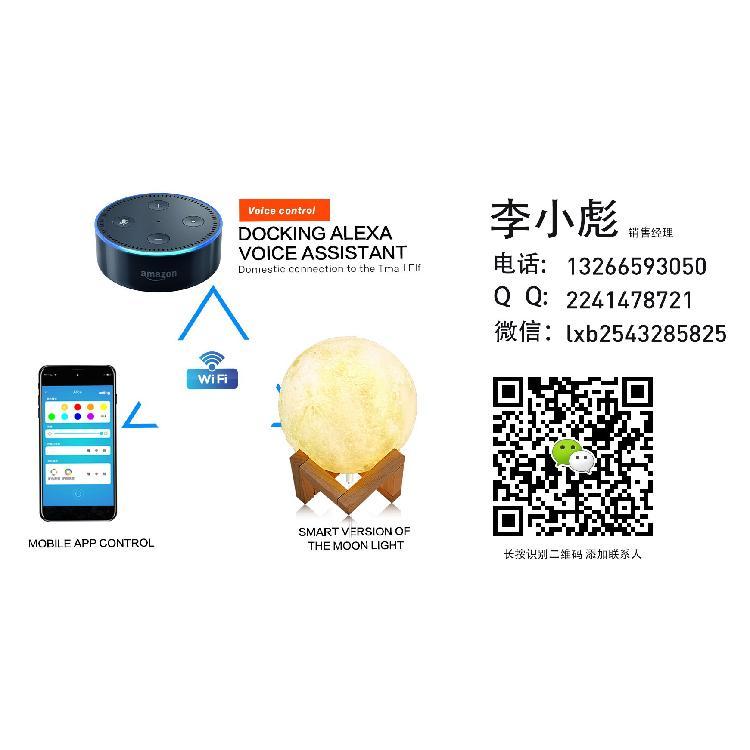 世界树跨境产品推荐-智能版月球灯