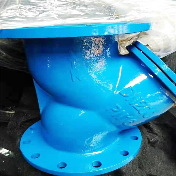 河北省 沧州庆泰阀门 碳钢Y型过滤器 全通径过滤器厂家直销