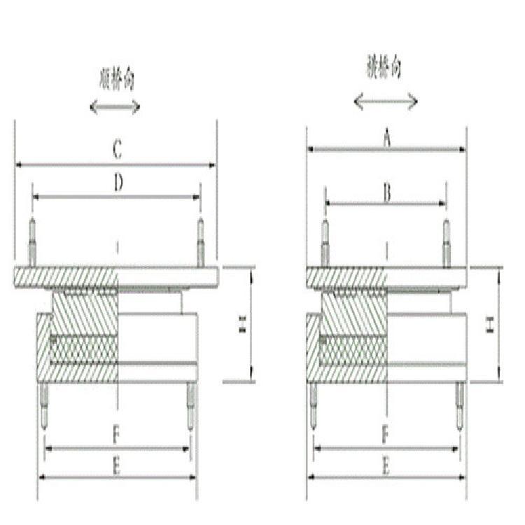 优质抗震盆式支座 专业生产钢盆式支座