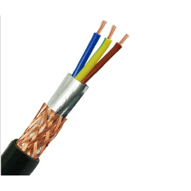 屏蔽电缆 护套屏蔽电缆 防水电缆3*0.75平方3芯
