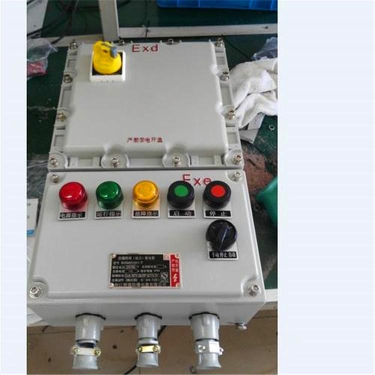 BXK-1.5KW一控一电机防爆控制箱