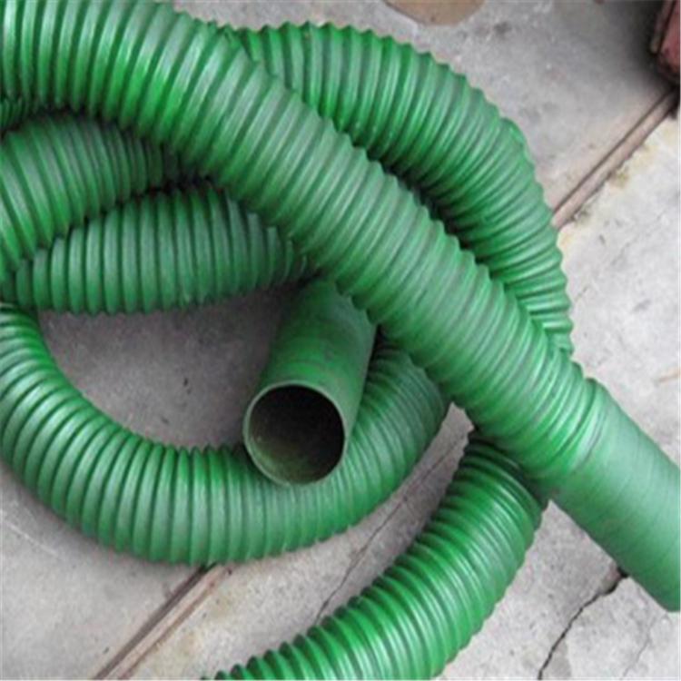 实力厂家专销空调伸缩软管 除尘用橡胶钢丝软管 钢丝伸缩软管 质量优
