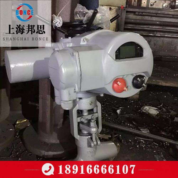 上海邦思/bonce厂家直销 电动焊接截止阀 焊接截止阀 电动截止阀