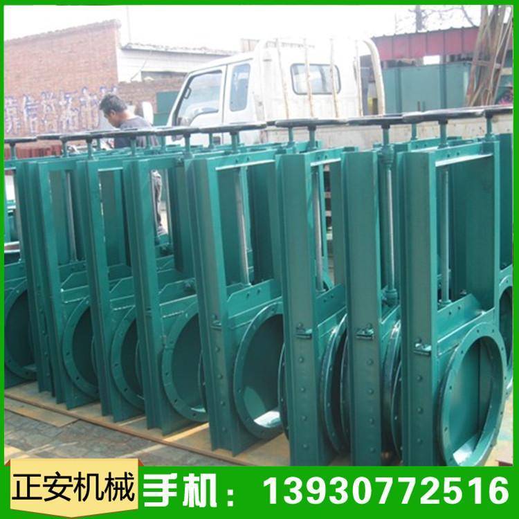 正安生产手动耐磨通风卸料插板阀碳钢闸板阀厂家直销定制