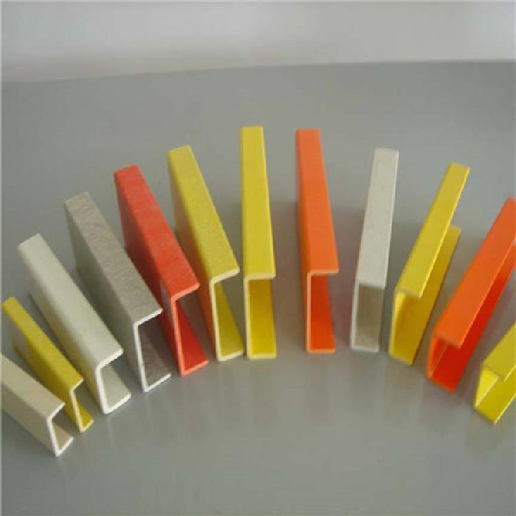 实力商家专业定制各规格类型玻璃钢拉挤型材 玻璃钢拉挤管