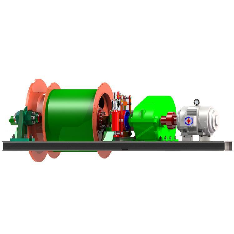 鹤壁星光摩擦式绞车矿井机械设备JTPB-1.0*0.8
