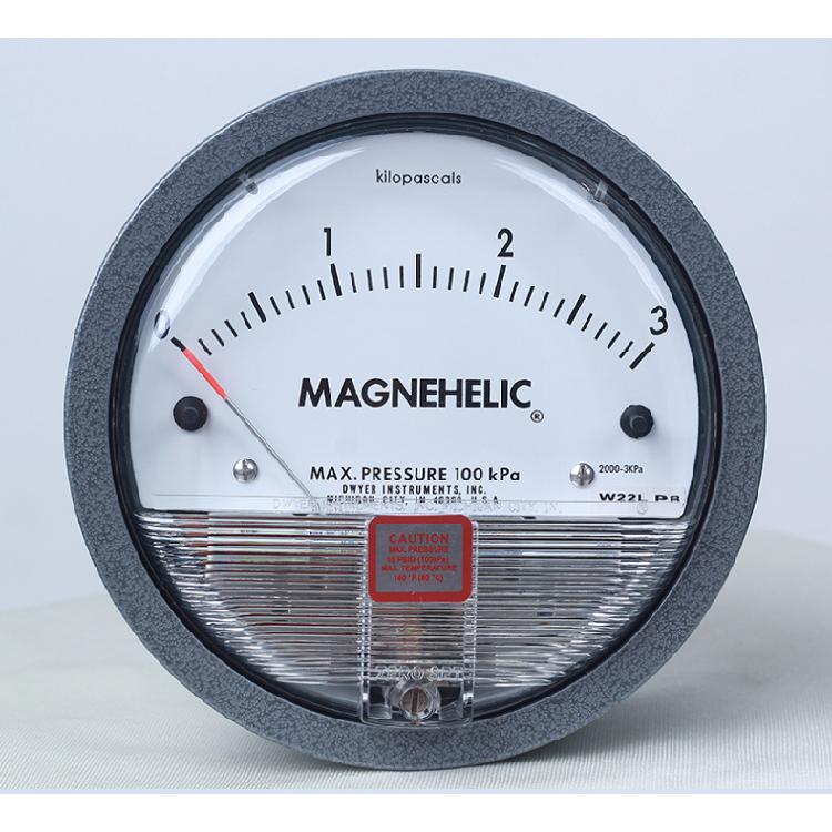 空气压力表德威尔2000-60pa差压表0~100pa指针式压力表magnehelic高精度风压