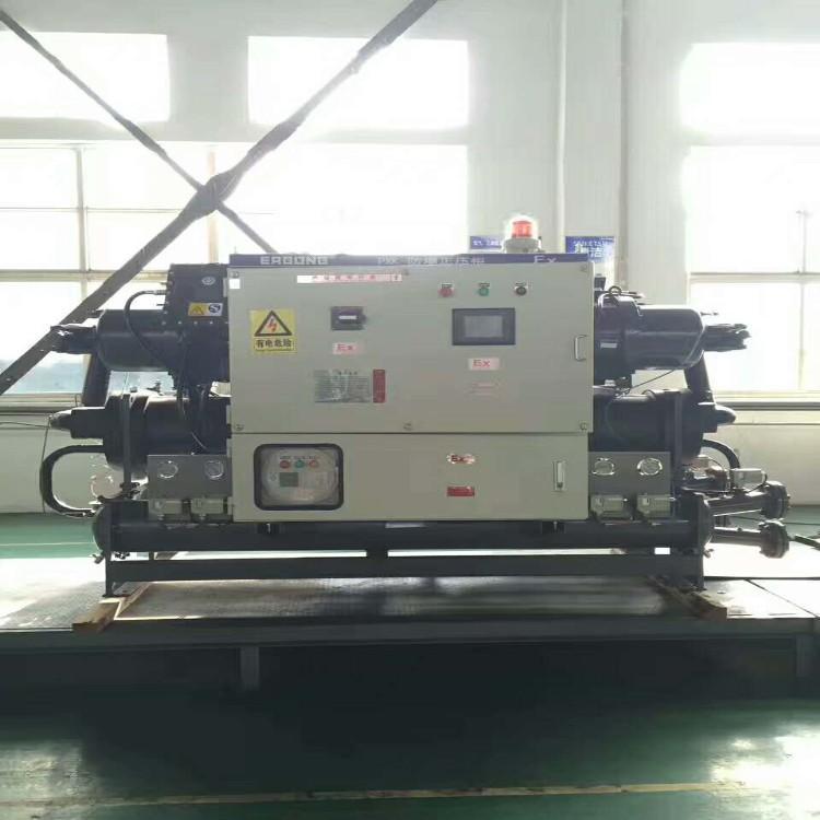 行业专用冷冻机 耐腐蚀冷水机不锈钢构造更耐用