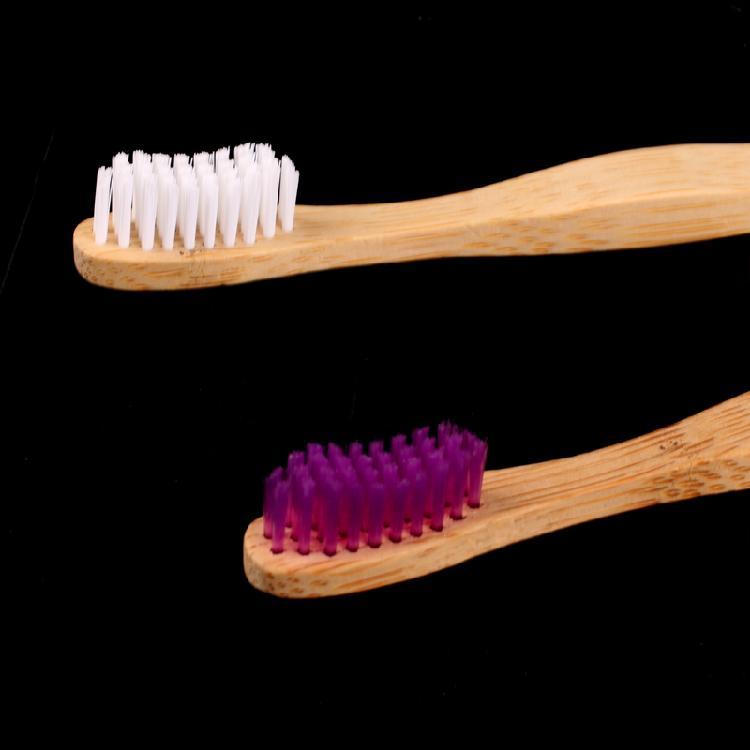 酒店民宿竹牙刷,旅行便携牙刷,厂家批发,可定logo