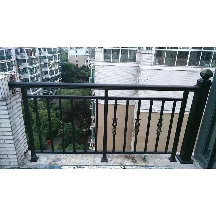 豪华铝艺阳台护栏自建房院子铝艺护栏别墅铝艺围栏