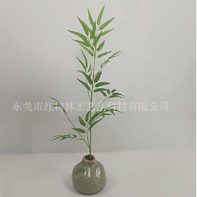仿真植物 假竹子 屏风隔断装饰布置 塑胶竹生产 仿真竹子盆栽批发 东莞塑胶竹厂家