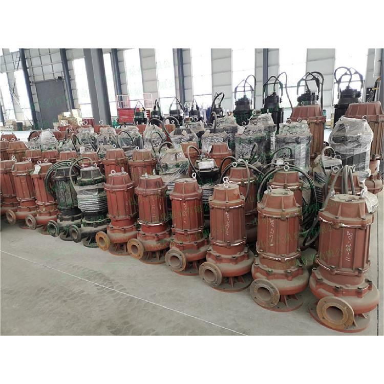 沃泉牌WJQ系列电动渣浆泵 耐磨抽沙泵 潜水砂浆泵 高扬程