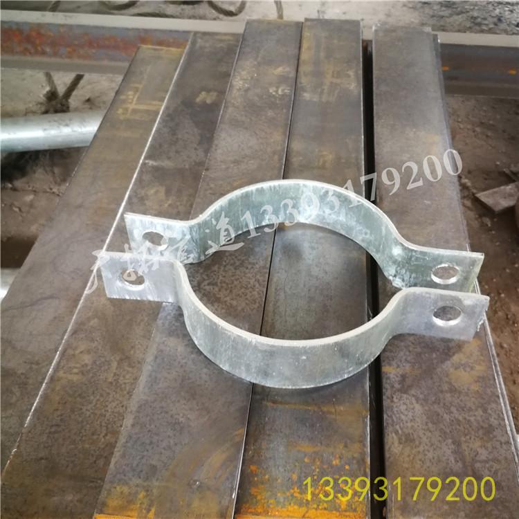 广拓厂家直销 A5基准型双螺栓管夹 质优价廉