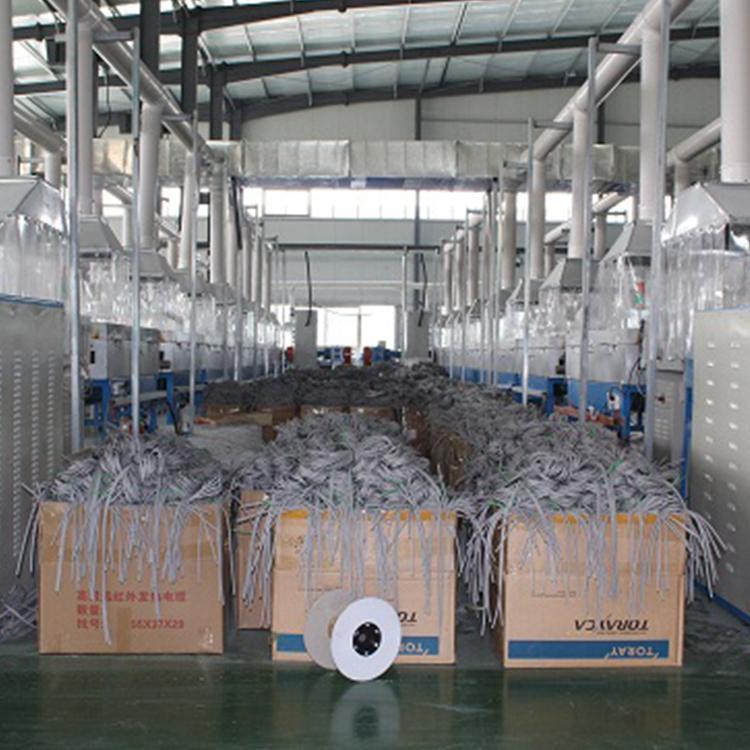 厂家直销电地暖发热线热电缆地暖线价格 t型pvc 碳纤维地暖线批发厂家