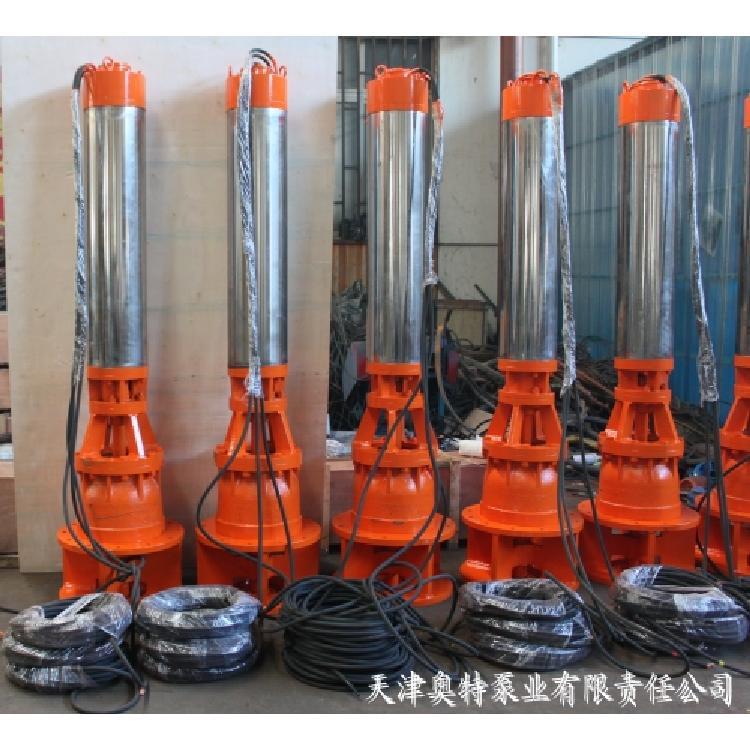 津奥特 QJX下吸潜水泵、QJX底吸泵、下泵上机潜水泵、底部进水泵