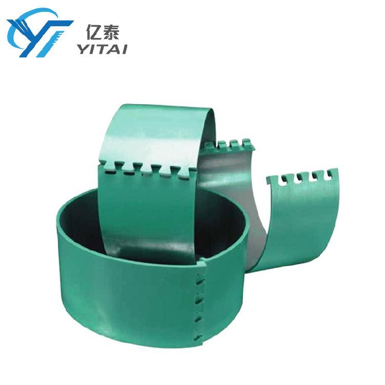 亿泰进口纸品印刷机模切胶垫 耐磨模切胶垫 高速纸板生产用圆压圆模切胶垫 物美价廉