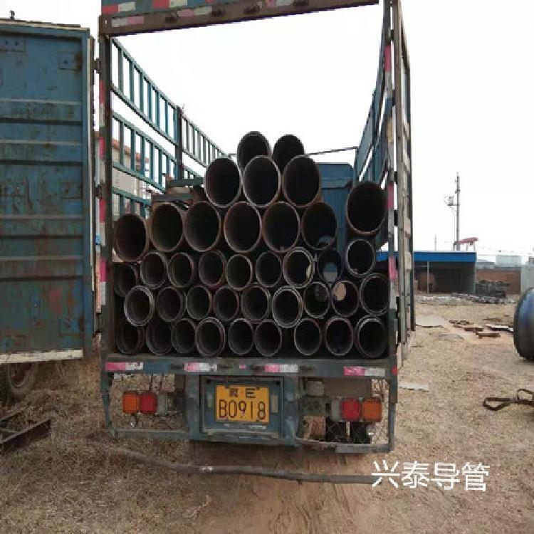 钢管灌注桩 灌注桩导管 灌注桩导管厂家 混凝土灌注桩导管兴泰桩工