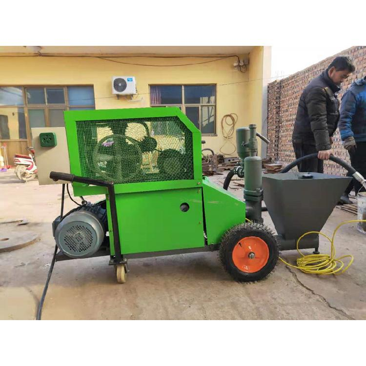 工地細石泵地泵柱塞式噴涂機砂漿水泥噴涂機