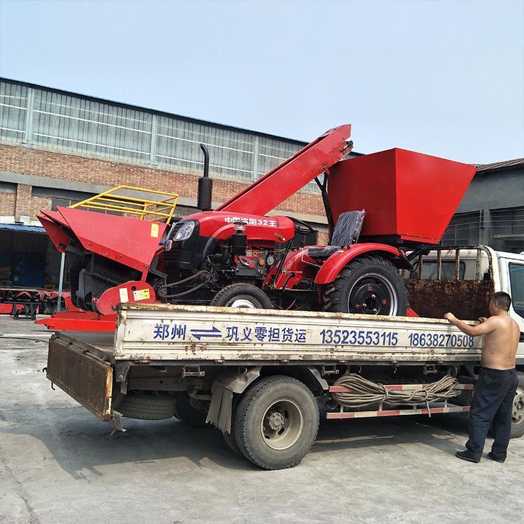 手扶拖拉机带玉米收获机 大马力手扶拖拉机带秸秆还田机 收割机