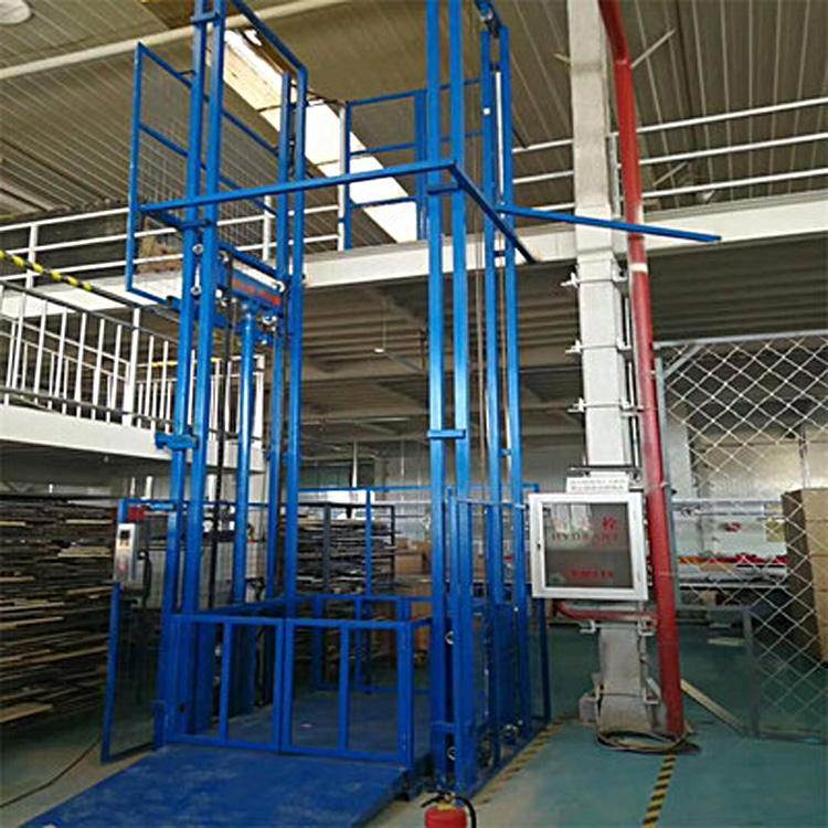 2吨6层液压导轨升降货梯厂房升降货梯批发定制厂家