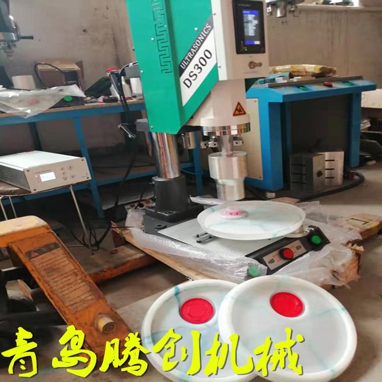 青岛厂家直销天津塑料油桶盖焊接设备超声波塑料焊接机