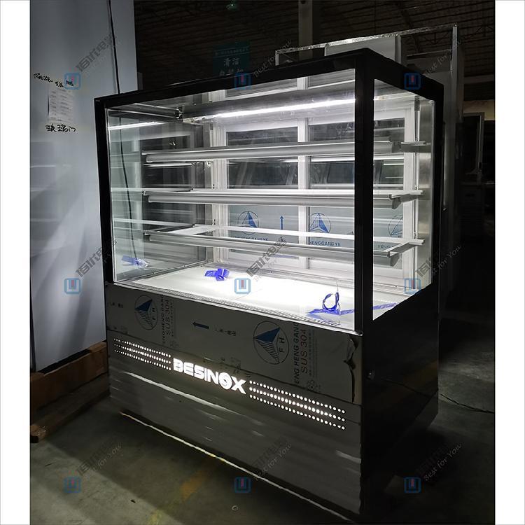 立式蛋糕柜厂家,豪华型立式加高蛋糕柜,商用保鲜柜【佰优冷柜】